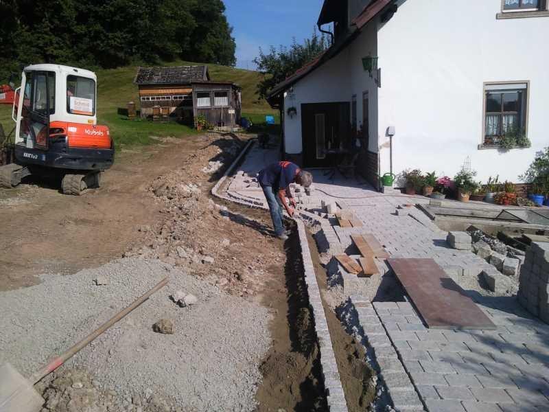 Einfassung Granit